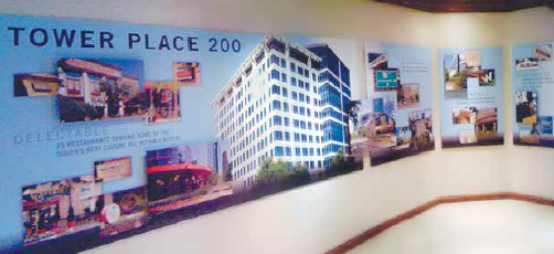 PMRG Tower Place 200, CRE Marketing, Atlanta Commercial Real Estate Advertising